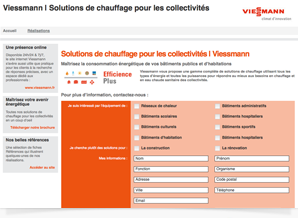 Viessmann : campagne email marketing ciblé